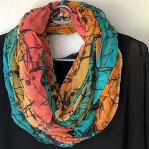 Charlotte Russe Colorful Infinity Scarf